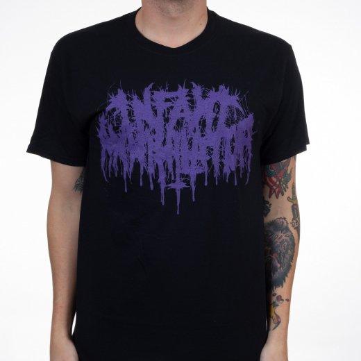 Infant Annihilator / インファント・アナイアレーター -  Logo (Purple). Tシャツ【お取寄せ】