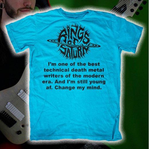 Rings Of Saturn / リングス・オブ・サターン - Best Tech Death. Tシャツ【お取寄せ】