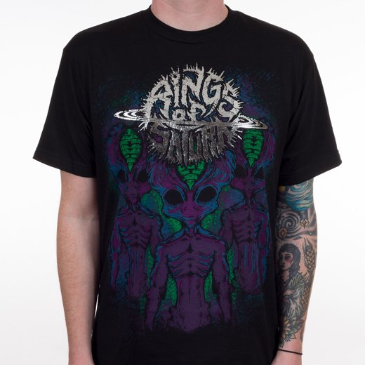 Rings Of Saturn / リングス・オブ・サターン - First Contact. Tシャツ【お取寄せ】
