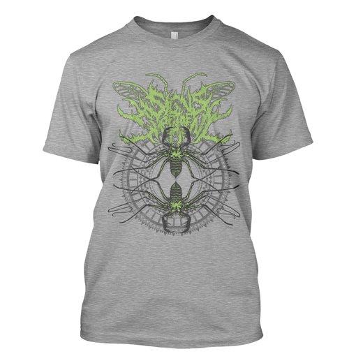 Signs of the Swarm / サインズ・オブ・ザ・スワーム - Spider. Tシャツ【お取寄せ】