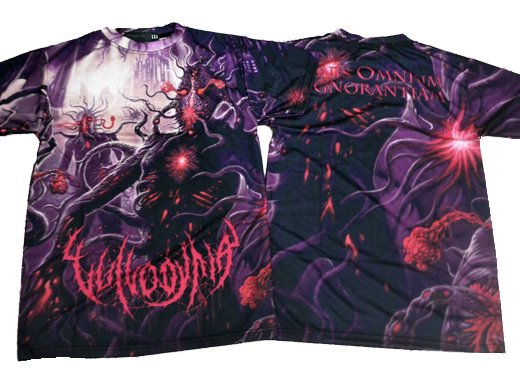 Vulvodynia / ヴルヴォディニア - Finis Omnium Ignorantiam All Over. Tシャツ【お取寄せ】