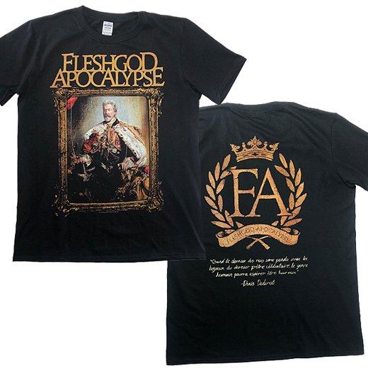 【即納商品】Fleshgod Apocalypse / フレッシュゴッド・アポカリプス - King. Tシャツ(Lサイズ)