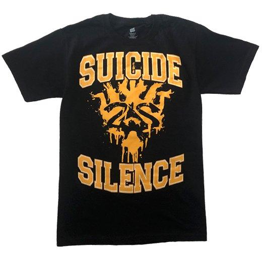 【即納商品】Suicide Silence / スーサイド・サイレンス - Varsity Crest. Tシャツ(Mサイズ)
