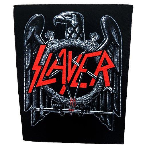 【即納商品】Slayer / スレイヤー - Black Eagle. バックパッチ