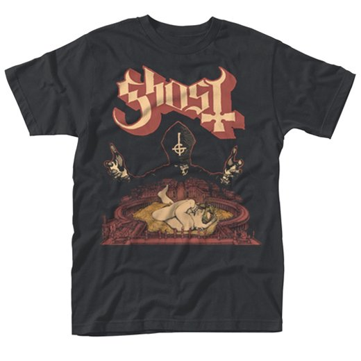 <img class='new_mark_img1' src='https://img.shop-pro.jp/img/new/icons1.gif' style='border:none;display:inline;margin:0px;padding:0px;width:auto;' />Ghost / ゴースト - Infestissumam. Tシャツ【お取寄せ】