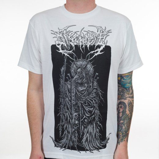 Disentomb / ディセントゥーム - Wizard (White). Tシャツ【お取寄せ】