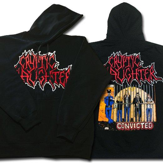 【即納商品】Cryptic Slaughter / クリプティック・スローター - Convicted. パーカー(XLサイズ)