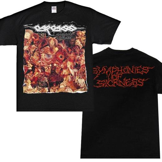 Carcass / カーカス - Symphonies Of Sickness. Tシャツ【お取寄せ】