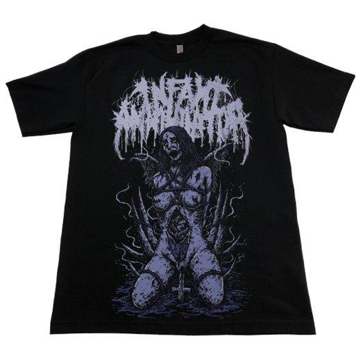 Infant Annihilator / インファント・アナイアレーター - Crucifucked. Tシャツ【お取寄せ】