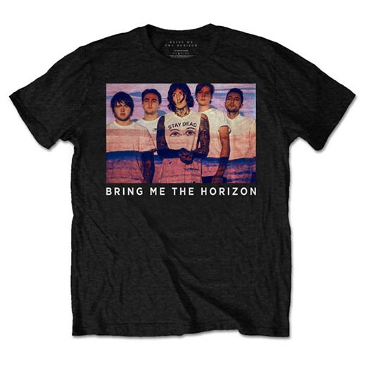 <img class='new_mark_img1' src='https://img.shop-pro.jp/img/new/icons1.gif' style='border:none;display:inline;margin:0px;padding:0px;width:auto;' />Bring Me the Horizon / ブリング・ミー・ザ・ホライズン - Photo Lines. Tシャツ【お取寄せ】