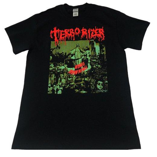 【即納商品】Terrorizer / テロライザー - World Downfall. Tシャツ(Mサイズ)