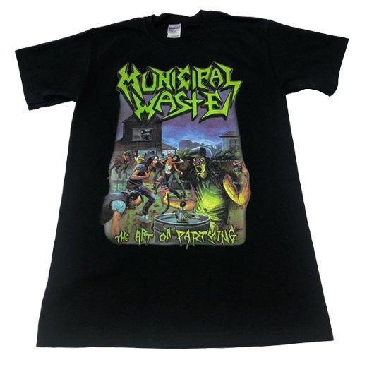 【即納商品】Municipal Waste / ミュニシパル・ウェイスト - The Art Of Partying. Tシャツ(Mサイズ)