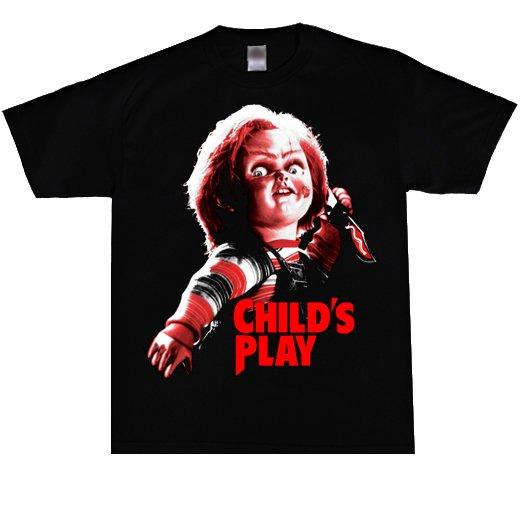 <img class='new_mark_img1' src='https://img.shop-pro.jp/img/new/icons26.gif' style='border:none;display:inline;margin:0px;padding:0px;width:auto;' />【即納商品】Child's Play / チャイルド・プレイ - Chucky. Tシャツ(Lサイズ)