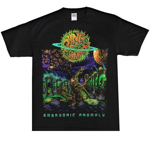 【即納商品】Rings Of Saturn / リングス・オブ・サターン - Embryonic Anomaly. Tシャツ(Mサイズ)