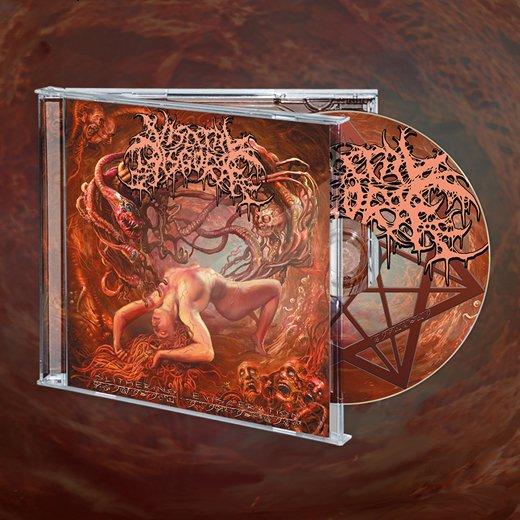 【即納商品】Visceral Disgorge / ヴィセラル・ディスゴージ - Slithering Evisceration. CD (Jewel Case)[CDケース保護フィルム付]