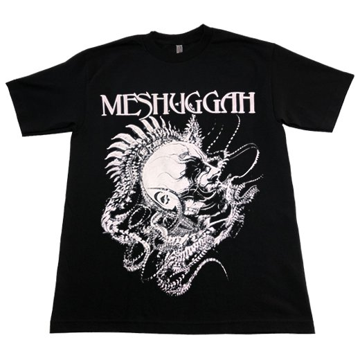【即納商品】Meshuggah / メシュガー - Spine Head. Tシャツ(Sサイズ)