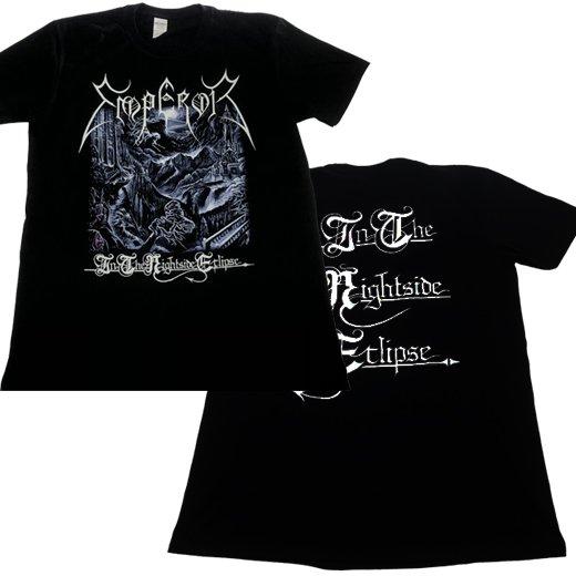 【即納商品】Emperor / エンペラー - In The Nightside Eclipse. Tシャツ(Lサイズ)