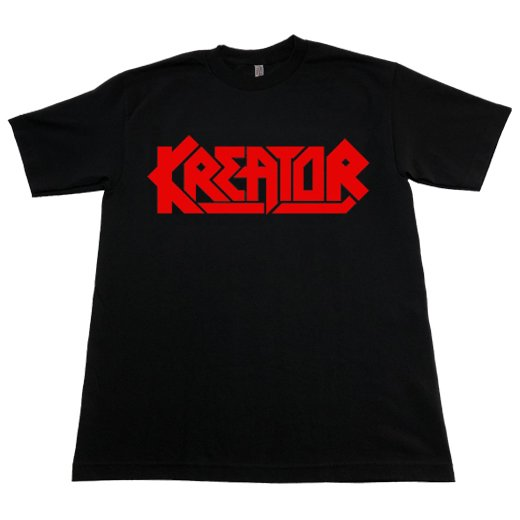 <img class='new_mark_img1' src='https://img.shop-pro.jp/img/new/icons1.gif' style='border:none;display:inline;margin:0px;padding:0px;width:auto;' />Kreator / クリエイター - Logo. Tシャツ【お取寄せ】