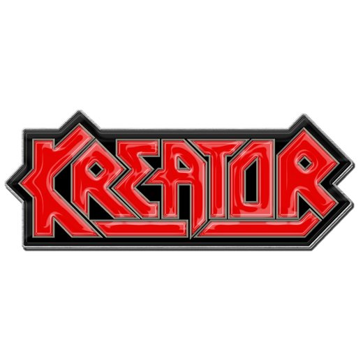 <img class='new_mark_img1' src='https://img.shop-pro.jp/img/new/icons1.gif' style='border:none;display:inline;margin:0px;padding:0px;width:auto;' />Kreator / クリエイター - Logo. メタルピンバッジ【お取寄せ】