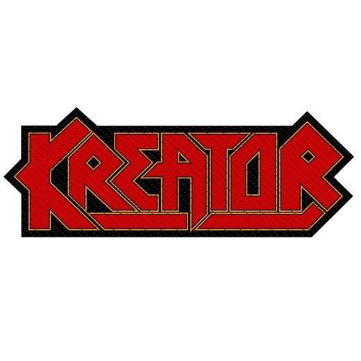 <img class='new_mark_img1' src='https://img.shop-pro.jp/img/new/icons1.gif' style='border:none;display:inline;margin:0px;padding:0px;width:auto;' />Kreator / クリエイター - Logo Cut-Out. パッチ【お取寄せ】