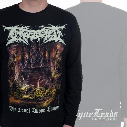 【即納商品】Ingested / インジェステッド - The Level Above Human. ロングスリーブTシャツ(Lサイズ)