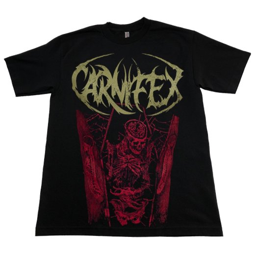 <img class='new_mark_img1' src='https://img.shop-pro.jp/img/new/icons1.gif' style='border:none;display:inline;margin:0px;padding:0px;width:auto;' />Carnifex / カーニフェックス - In The Coffin. Tシャツ【お取寄せ】
