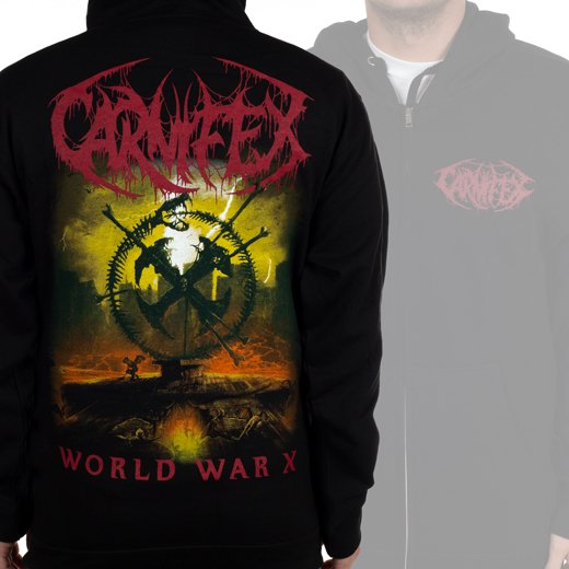 <img class='new_mark_img1' src='https://img.shop-pro.jp/img/new/icons61.gif' style='border:none;display:inline;margin:0px;padding:0px;width:auto;' />Carnifex / カーニフェックス - World War X. ジップアップパーカー【お取寄せ】