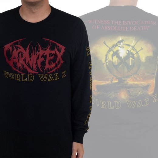 <img class='new_mark_img1' src='https://img.shop-pro.jp/img/new/icons1.gif' style='border:none;display:inline;margin:0px;padding:0px;width:auto;' />Carnifex / カーニフェックス - World War X. ロングスリーブTシャツ【お取寄せ】