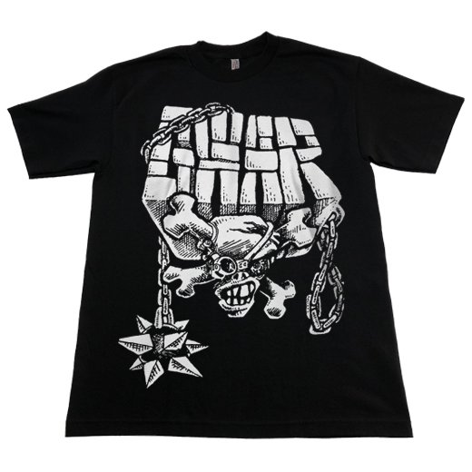 <img class='new_mark_img1' src='https://img.shop-pro.jp/img/new/icons1.gif' style='border:none;display:inline;margin:0px;padding:0px;width:auto;' />Gwar / グワァー - Skull And Chains. Tシャツ【お取寄せ】