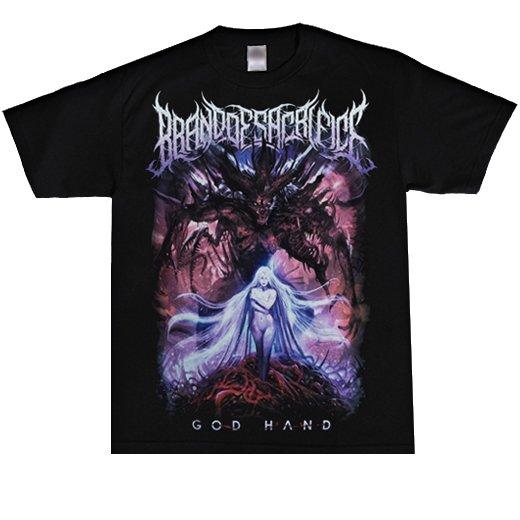 【即納商品】Brand of Sacrifice / ブランド・オブ・サクリファイス - Godhand.Tシャツ(Lサイズ)