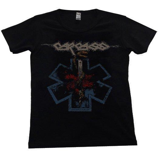 Carcass / カーカス - Despicable. レディースTシャツ【お取寄せ】