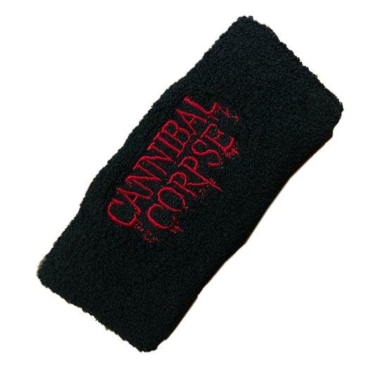 <img class='new_mark_img1' src='https://img.shop-pro.jp/img/new/icons1.gif' style='border:none;display:inline;margin:0px;padding:0px;width:auto;' />【即納商品】Cannibal Corpse / カンニバル・コープス - Logo. ロングリストバンド
