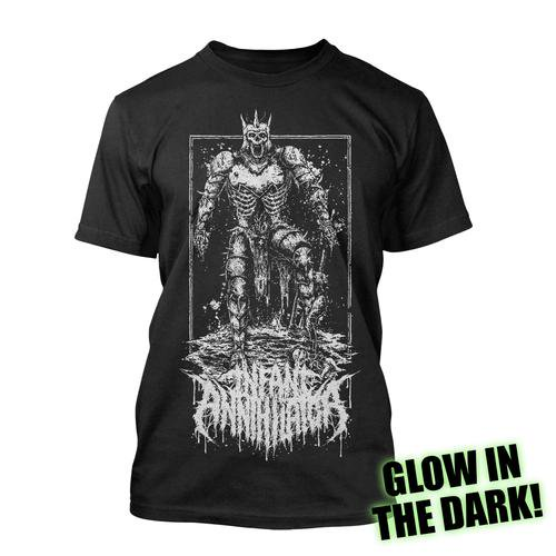 <img class='new_mark_img1' src='https://img.shop-pro.jp/img/new/icons1.gif' style='border:none;display:inline;margin:0px;padding:0px;width:auto;' />Infant Annihilator / インファント・アナイアレーター - Plague Bringer (glow ink). Tシャツ【お取寄せ】