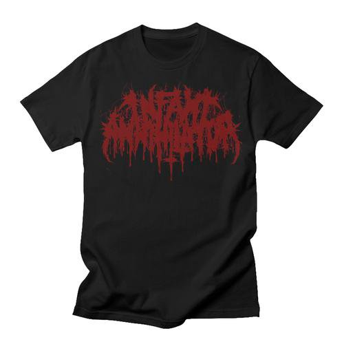 <img class='new_mark_img1' src='https://img.shop-pro.jp/img/new/icons1.gif' style='border:none;display:inline;margin:0px;padding:0px;width:auto;' />Infant Annihilator / インファント・アナイアレーター - Logo (Red). Tシャツ【お取寄せ】
