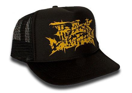 <img class='new_mark_img1' src='https://img.shop-pro.jp/img/new/icons26.gif' style='border:none;display:inline;margin:0px;padding:0px;width:auto;' />【即納商品】The Black Dahlia Murder / ザ・ブラック・ダリア・マーダー - Logo. メッシュキャップ