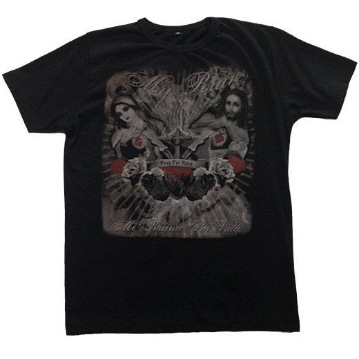 【即納商品】My Ruin / マイ・ルーイン - Pray For Rock Guys. Tシャツ (Mサイズ )