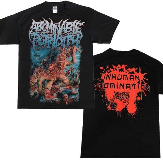 Abominable Putridity / アボミナブル・ピュトリディティ - Inhuman Abomination. Tシャツ【お取寄せ】