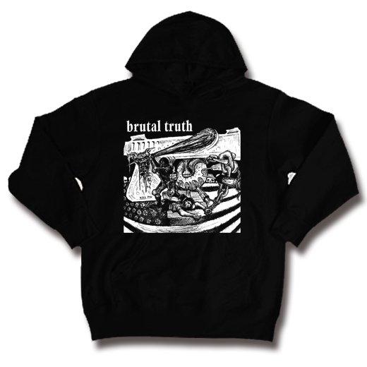 【お取寄せ】Brutal Truth / ブルータル・トゥルース - Kill Pig. パーカー