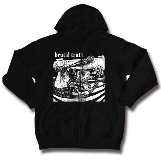 【お取寄せ】Brutal Truth / ブルータル・トゥルース - Kill Pig. ジップアップパーカー