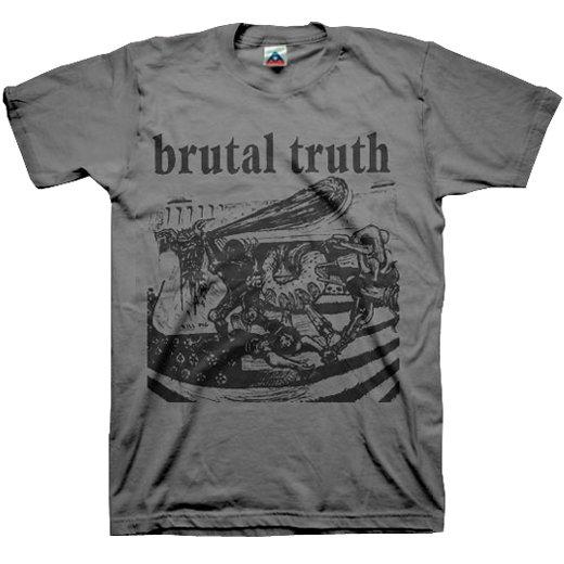 【お取寄せ】Brutal Truth / ブルータル・トゥルース - Kill Pig (Charcoal). Tシャツ
