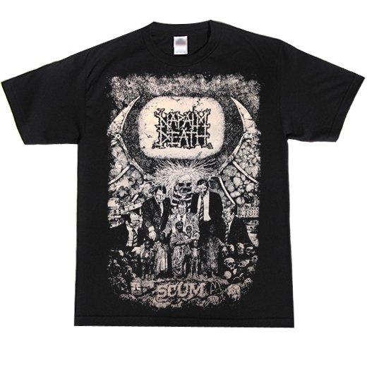 Napalm Death / ナパーム・デス - Scum Vintage series. Tシャツ【お取寄せ】