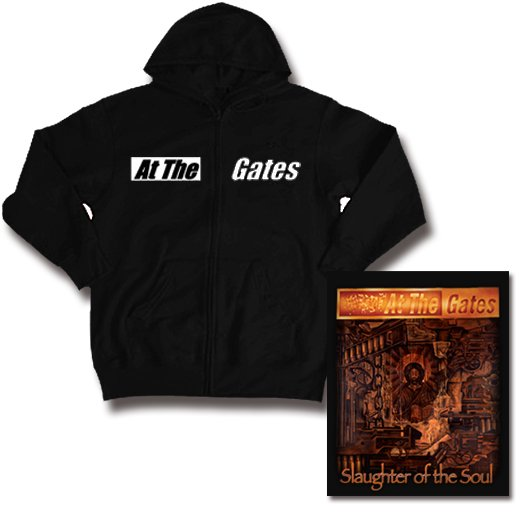 At The Gates / アット・ザ・ゲイツ - Slaughter Of The Soul. ジップアップパーカー【お取寄せ】