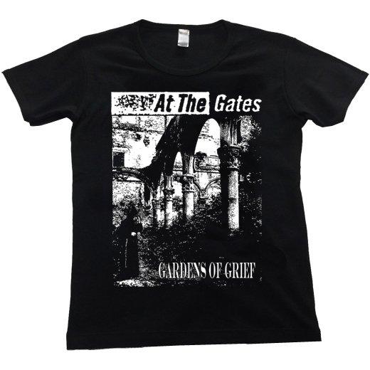 At The Gates / アット・ザ・ゲイツ - Gardens Of Grief. レディースTシャツ【お取寄せ】