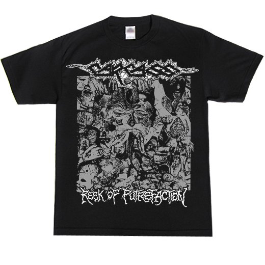 Carcass / カーカス - Reek Of Putrefaction. Tシャツ【お取寄せ】