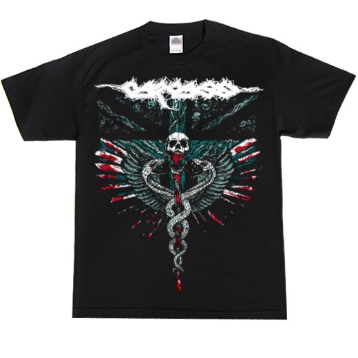 Carcass / カーカス - Medical Snakes. Tシャツ【お取寄せ】