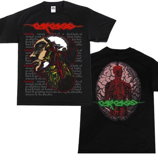 Carcass / カーカス - Dead Body (Nuclerar Blast Ver.). Tシャツ【お取寄せ】