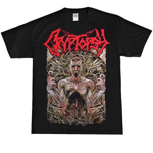 Cryptopsy / クリプトプシー - Look At That. Tシャツ【お取寄せ】