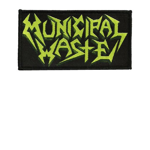 Municipal Waste / ミュニシパル・ウェイスト - Logo. パッチ【お取寄せ】
