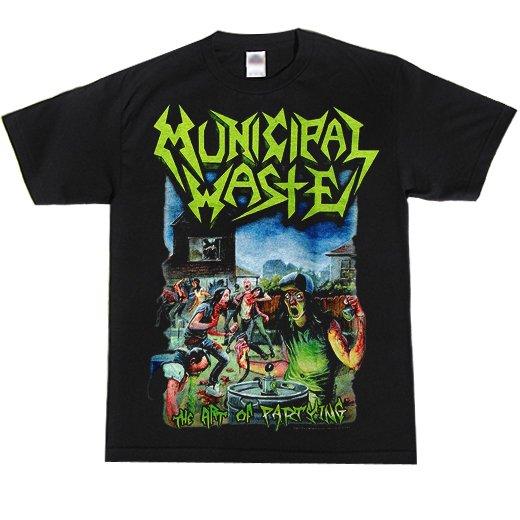 Municipal Waste / ミュニシパル・ウェイスト - The Art Of Partying. Tシャツ【お取寄せ】