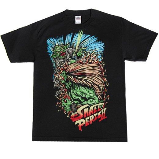 【お取寄せ】All Shall Perish / オール・シャル・ペリシュ - Street Fighter. Tシャツ